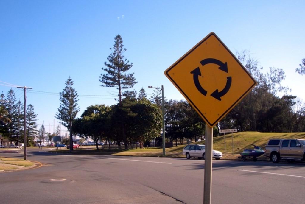 オーストラリアのラウンドアバウト