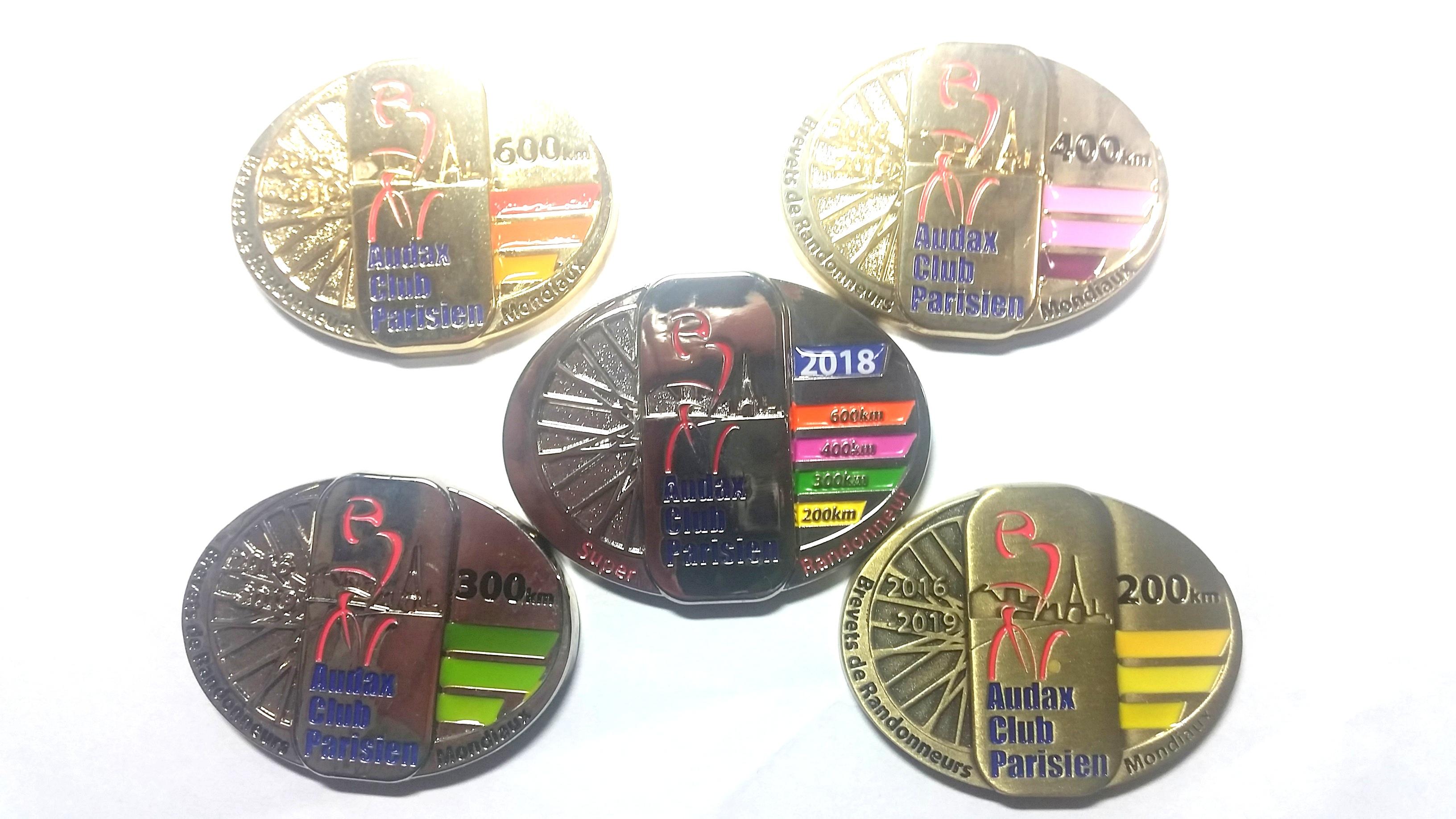 シューペル・ランドルーヌの称号メダル