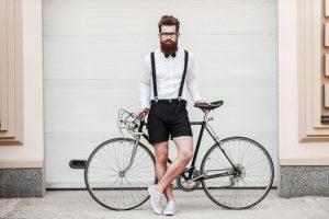 粋な自転車乗り