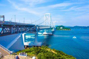 大鳴門大橋in淡路島
