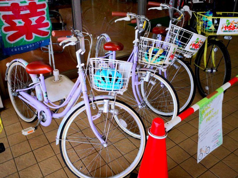 道の駅やちよ-レンタサイクル