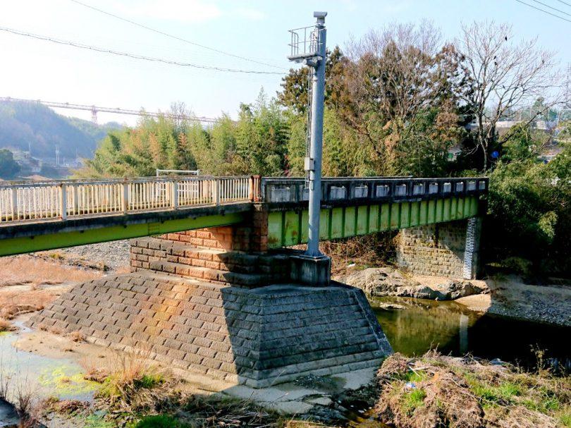 香東川を渡る鉄橋