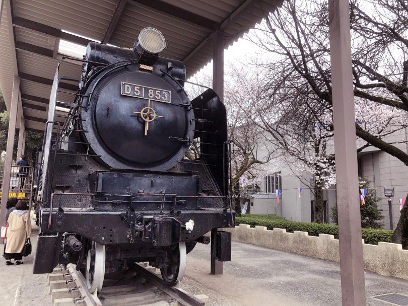 蒸気機関車(D51853)