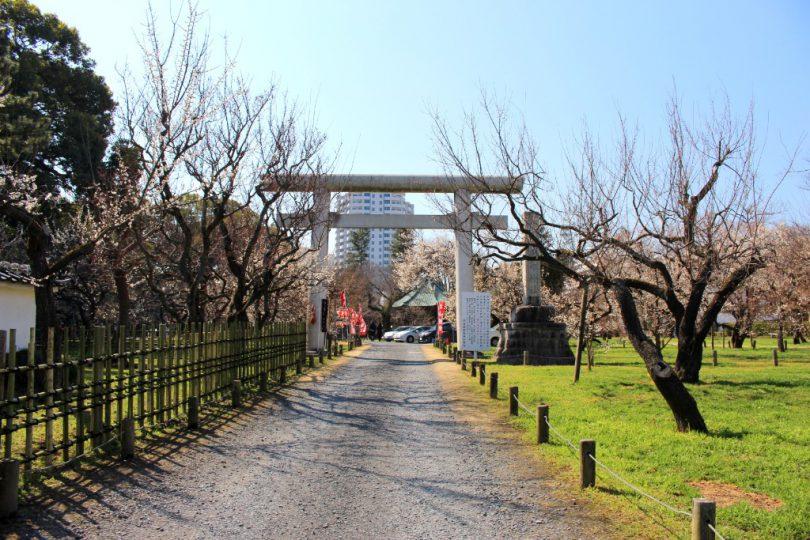 鹿島神社鳥居