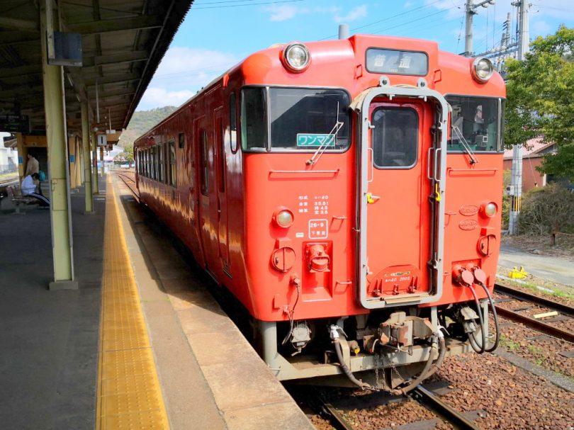 山口駅-車両