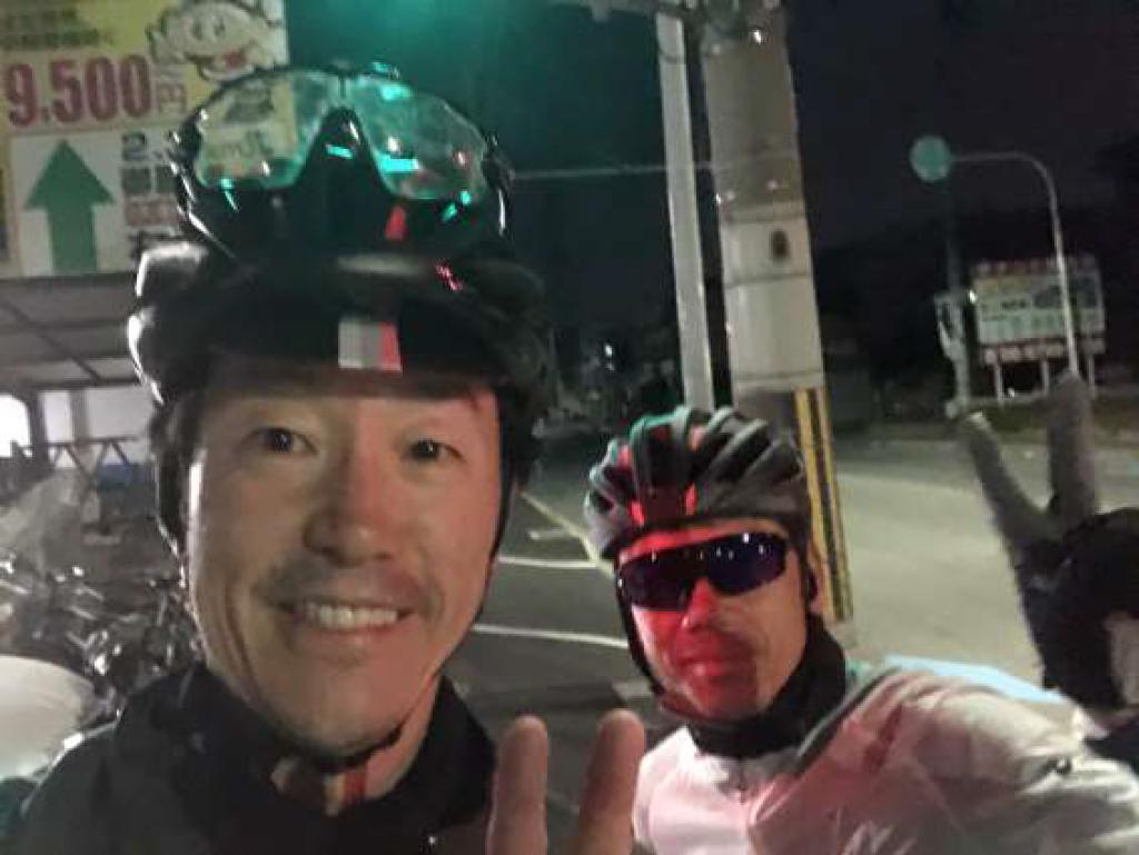 大阪から琵琶湖までの早朝ライド