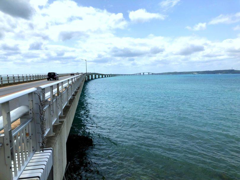 宮古島、伊良部島、伊良部大橋、曲線美