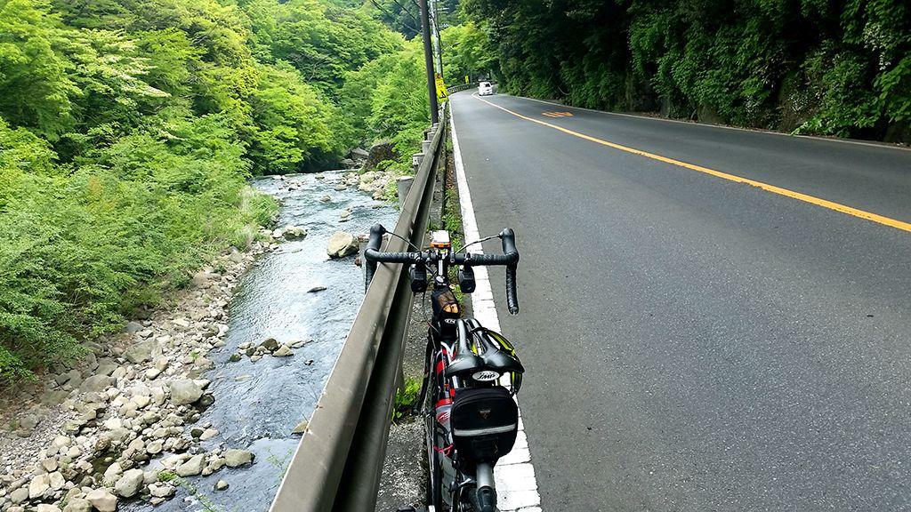 新緑の箱根路(写真は宮ノ下付近)