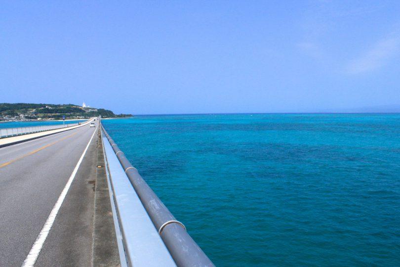 古宇利大橋、沖縄県、名護市