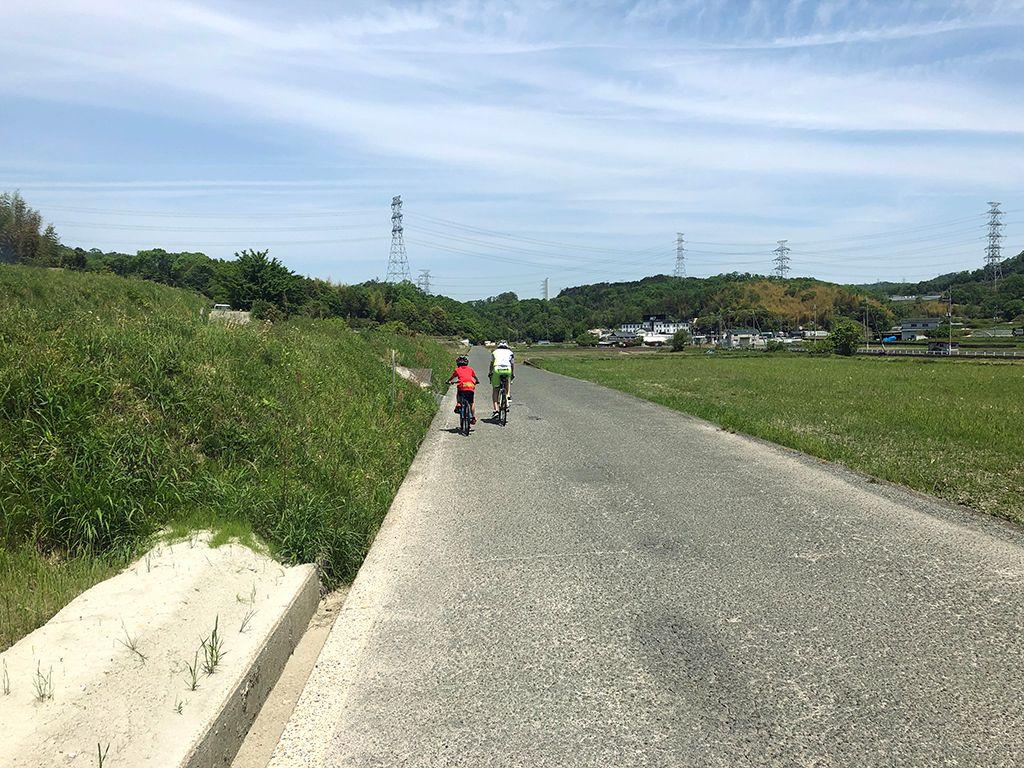 清滝峠から淀川へ(旧道)