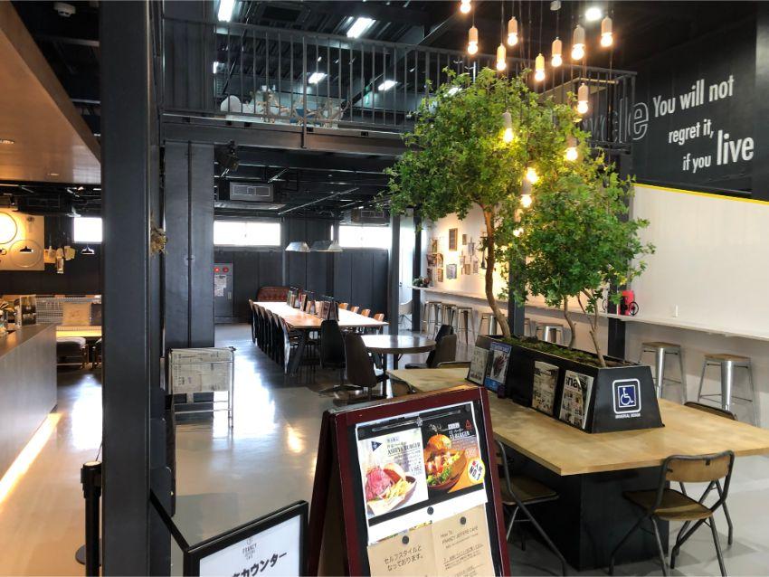 FRANCY JEFFERS CAFE カフェスペース