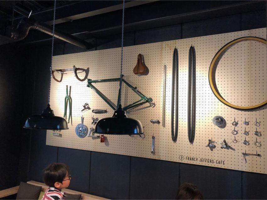 FRANCY JEFFERS CAFE 自転車パーツ