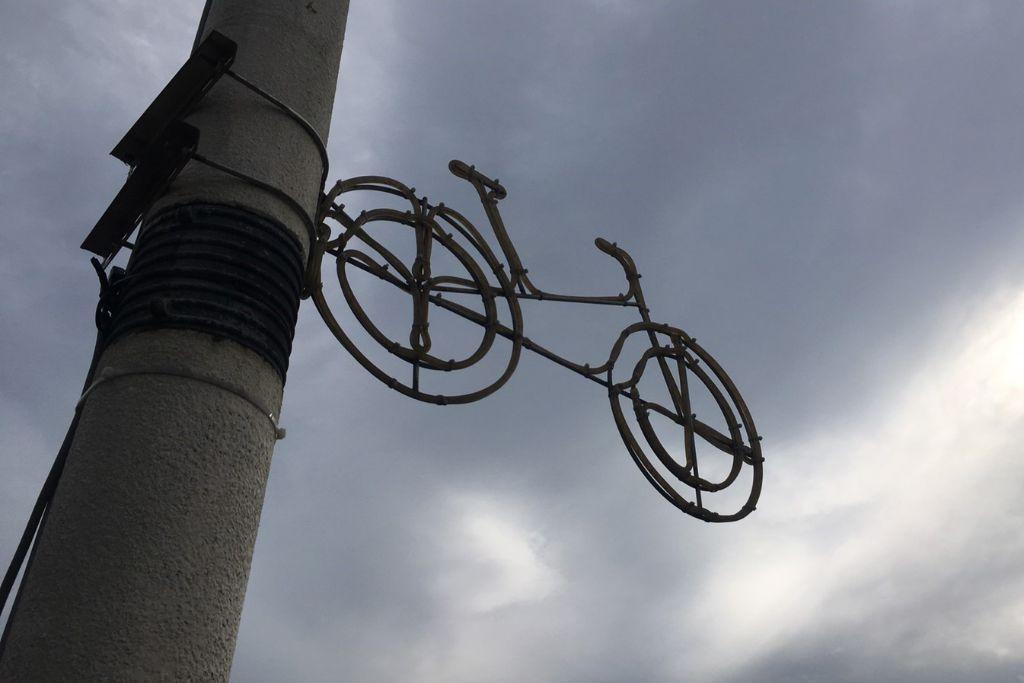 台北 サイクリングロード 街灯