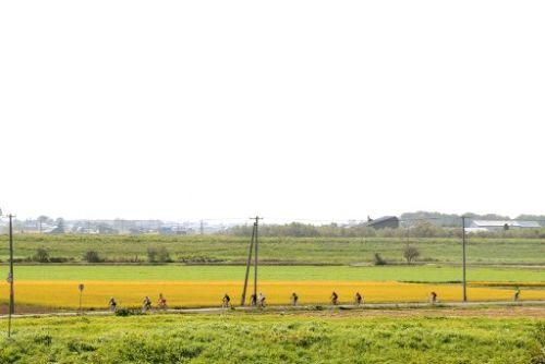 06_美唄の田園風景の中をサイクリング