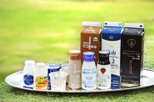 19_蒜山ジャージー牛乳、カフェオレなど