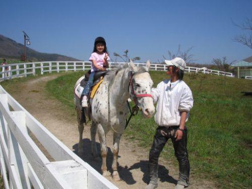 15_蒜山ホースパークでの乗馬体験