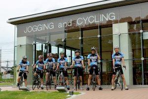 橿原公苑のジョギング&サイクリングステーション