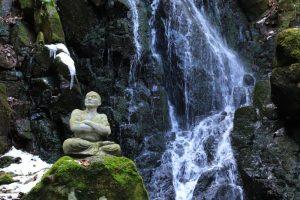【あぜ道】鍋倉の滝①