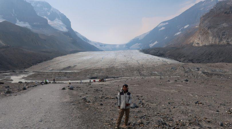 アサバスカ氷河/ジャスパー・ナショナルパーク(カナダ)