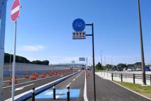 【千葉県】千葉外環開通直前!千葉外環側道の自転車道、都心に一番近い道の駅いちかわ!