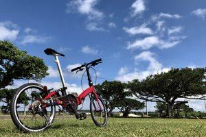 スーツケースに入る軽量折りたたみ自転車「CARACLE-S」を旅先に持って行き、走ってみたレポート