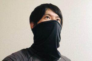 【新型コロナ】運動のためのマスク・ネックゲイター|飛沫拡散防止で互いに気持ち良いサイクリングを