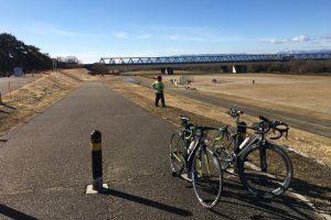 木曽川サイクリング
